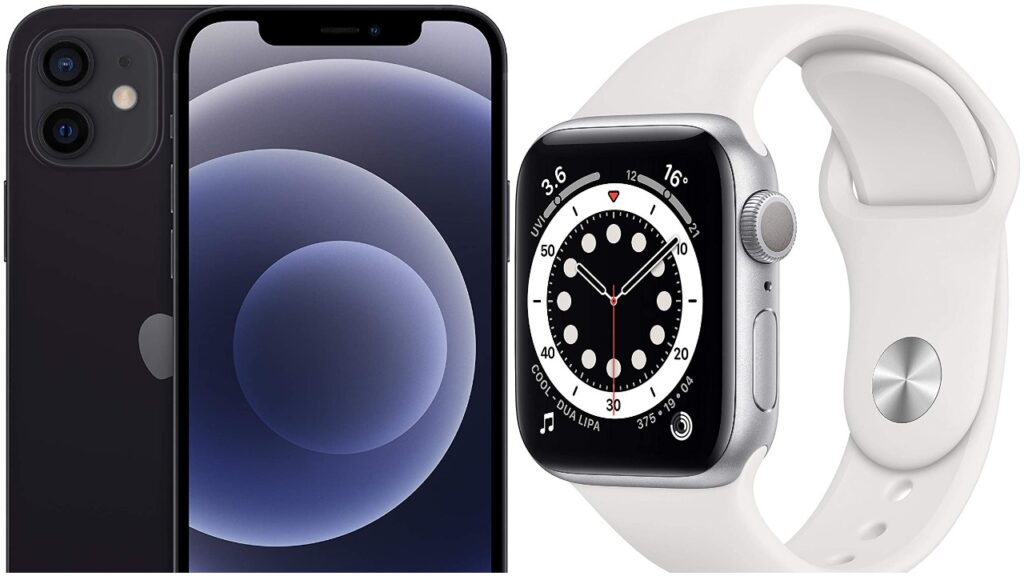 The Amazon Prime Day sale features Apple products including the iPhone, iPad and Apple Watch. (Amazon)