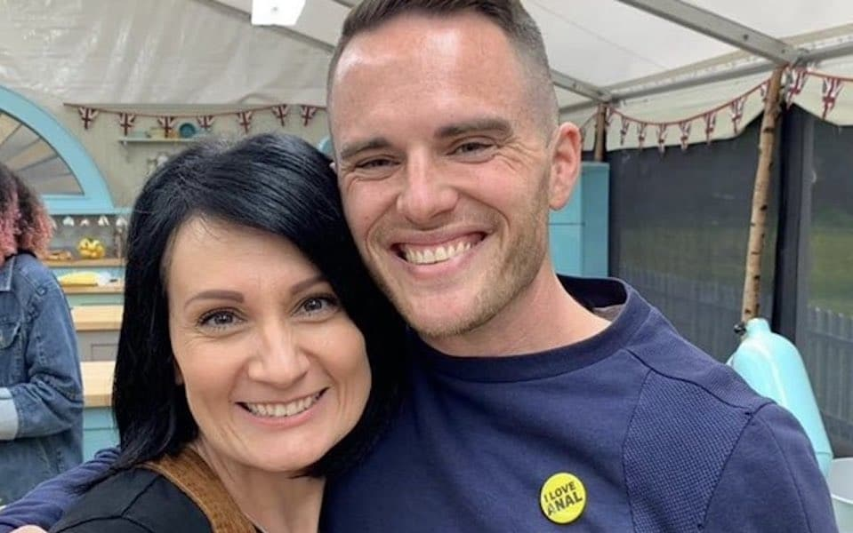 Bake Off stopped gay baker from wearing 'I love anal' badge