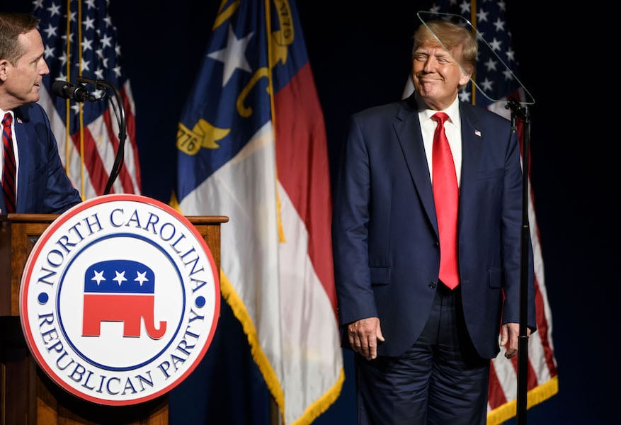 Donald Trump at the NCGOP state convention