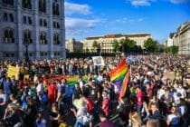 Hungary: Thousands protest law banning public discussion of LGBT people