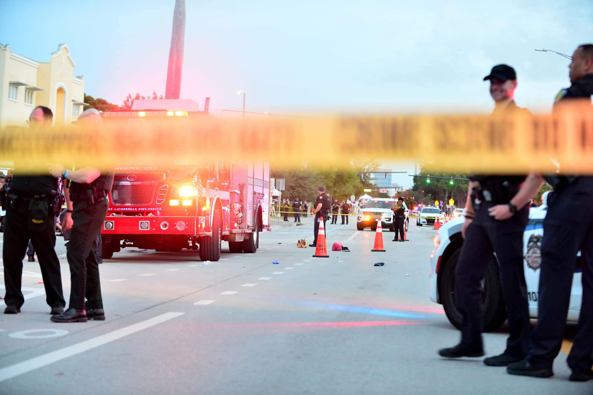 Florida Pride crash that killed one was not a terror attack, officials say