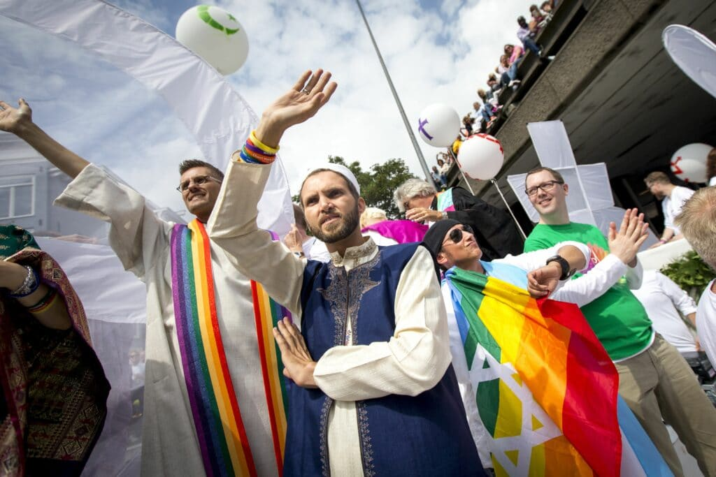 Openly gay imam Ludovic Zahed