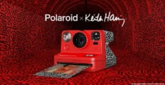 Polaroid has launched a special ediiton camera and film to celebrate gay icon Keith Haring. (© Keith Haring Foundation. Licensed by Artestar, New York)