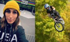 BMX freestyle rider Chelsea Wolfe trans
