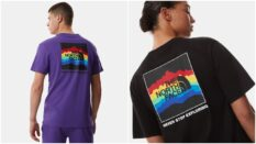 """The North Face Pride collection features the tagline """"Never Stop Exploring"""". (The North Face)"""