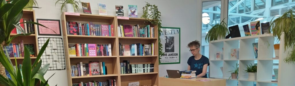The Bookish Type is based in Leeds. (Bookshop.org)