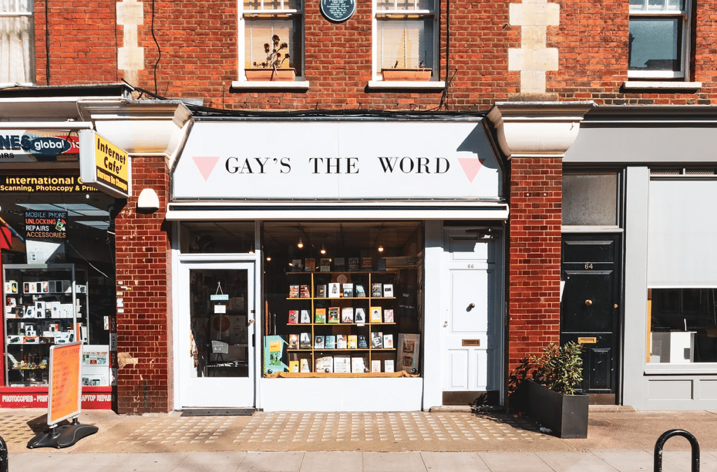 Gays The Word is the UK's oldest LGBT+ bookshop. (gaystheword.co.uk)