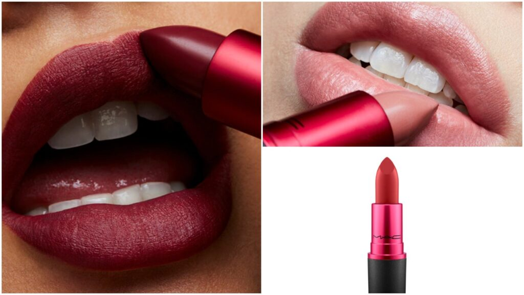 The Viva Glam collection currently features three different lipsticks. (Mac Cosmetics)