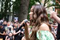 Munroe Bergdorf at Trans Pride: 'Take up this space. This space is yours!'
