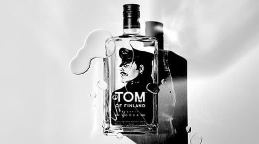 Five per cent of all sales go to the Tom of Finland Foundation, which supports expressive freedom in art.