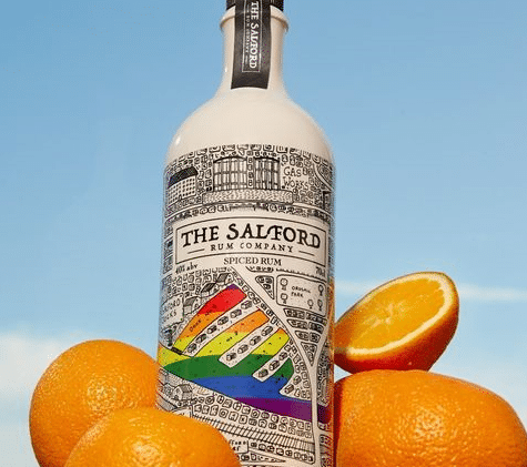 The Salford Rum Company has released a collector's edition spiced rum for Pride. (Harvey Nichols)