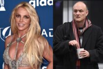 Britney Spears at the GLAAD Awards and Dominic Cummings photographed with a cup of coffee