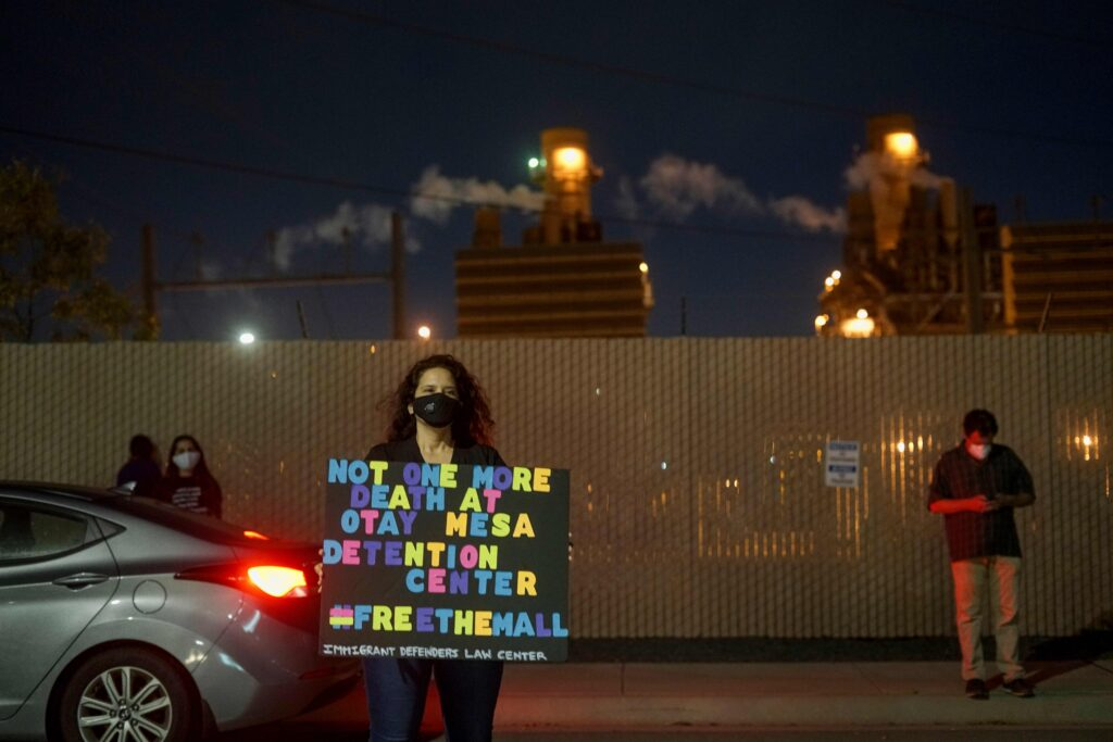 Trans woman freed from ICE detention thanks supporters