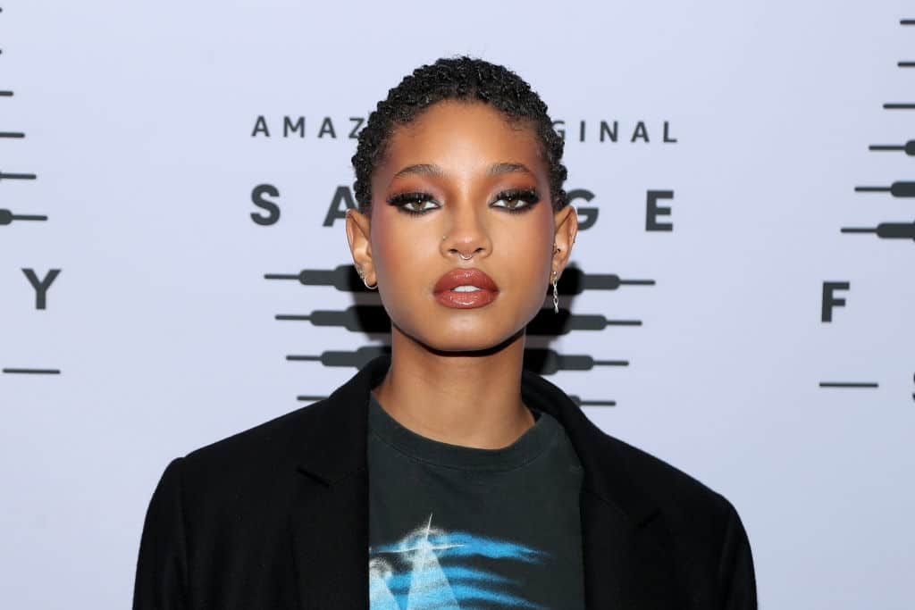 Willow Smith skincare products