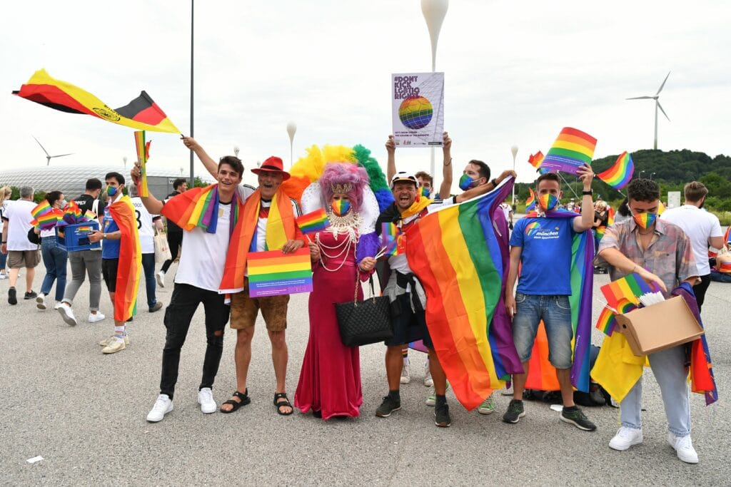 Euro 2020: Proud LGBT fans share what football means to them