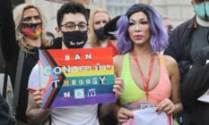 activist Ban conversion therapy now