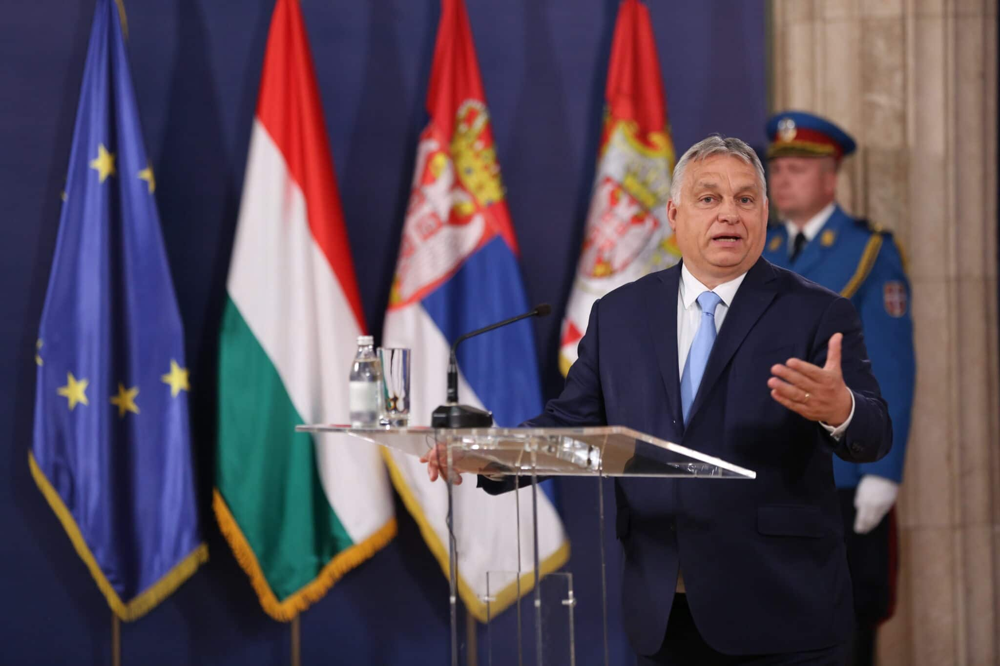 EU staunchly condemns Hungary's vile anti-LGBT+ law as an 'attack on democracy'