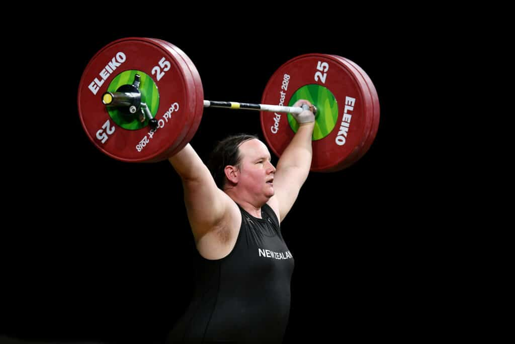 Laurel Hubbard is one of the first openly trans athletes to compete at the Olympics.