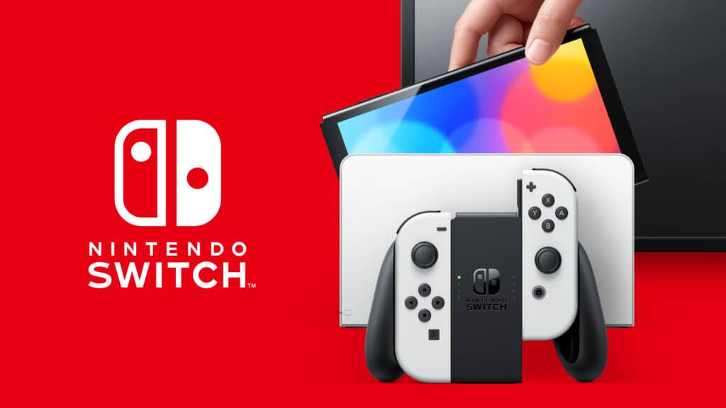 Nintendo Switch OLED: Surprise new console announced