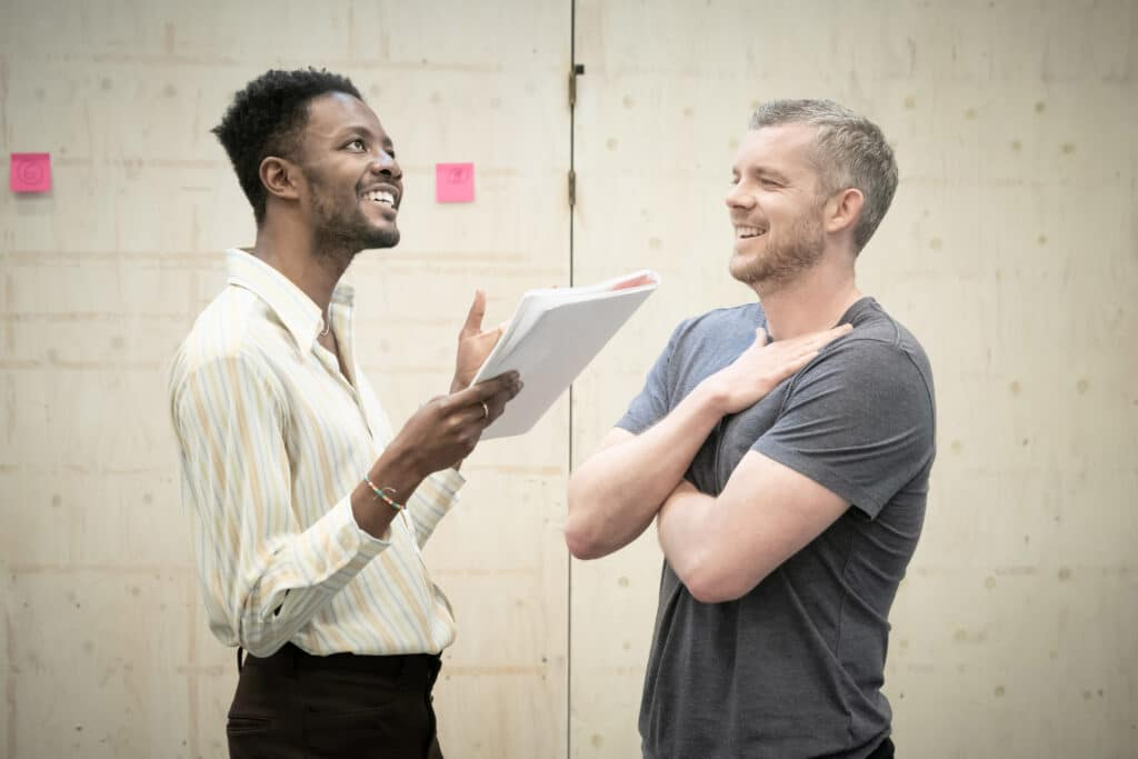 Omari Douglas and Russell Tovey are starring in Constellations