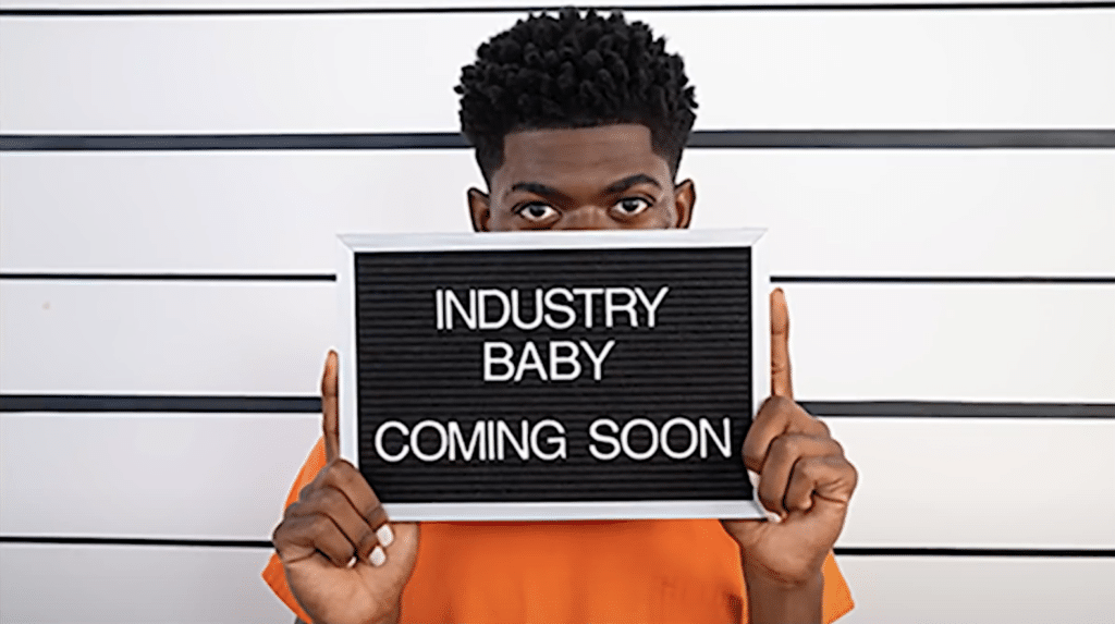 Lil Nas x satan shoes industry baby