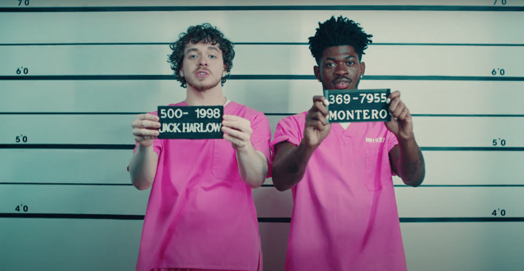 Lil Nas X Jack Harlow Industry Baby