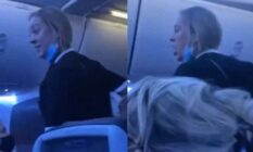 Homophobe's rant about Disney sees her kicked off plane