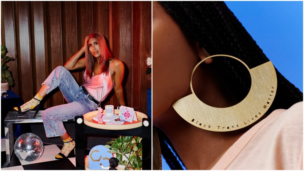 Honey Dijon has created a new collection with Etsy.