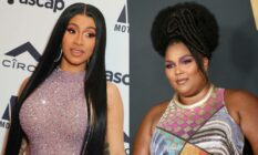 Cardi B Lizzo side by side images