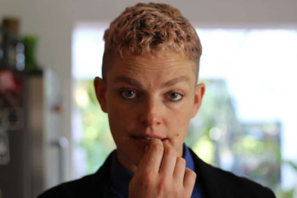 Tamsin Omond could be the first out trans leader of a major UK political party.