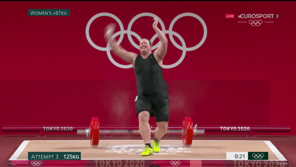 Laurel Hubbard failed to lift 125kg in the women's weightlifting final at the Tokyo Olympics.