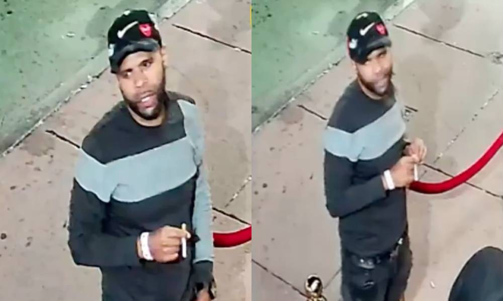 The NYPD images of man suspected of a homophobic hate crime