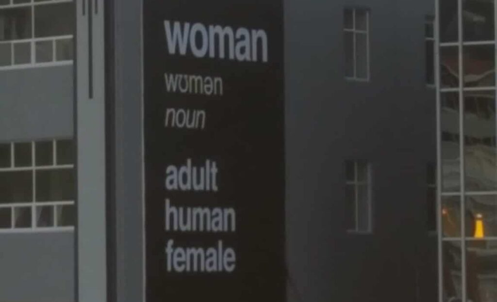 Anti-trans billboard in New Zealand removed after less than 24 hours.