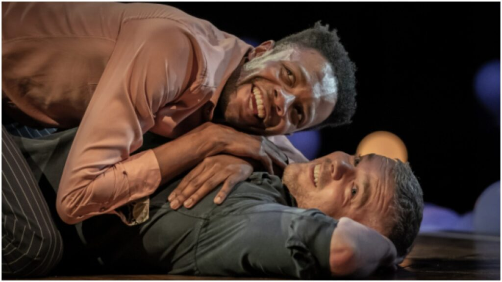 Omari Douglas and Russell Tovey star in Constellations