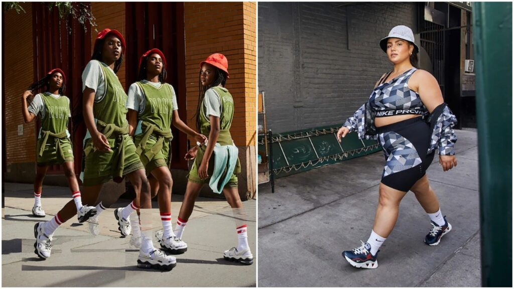 The new collection features apparel and footwear pieces inspired by Serena Williams.