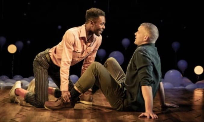 Omari Douglas and Russell Tovey in Constellations.