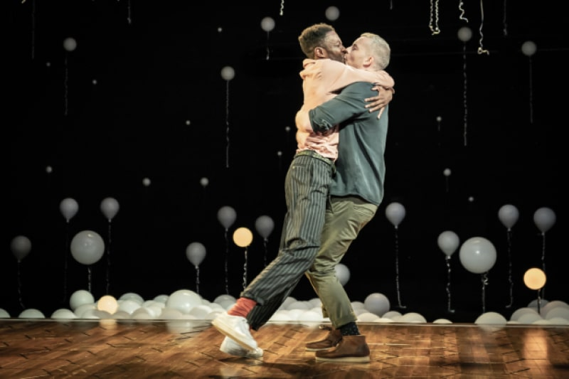 Russell Tovey and Omari Douglas in Constellations