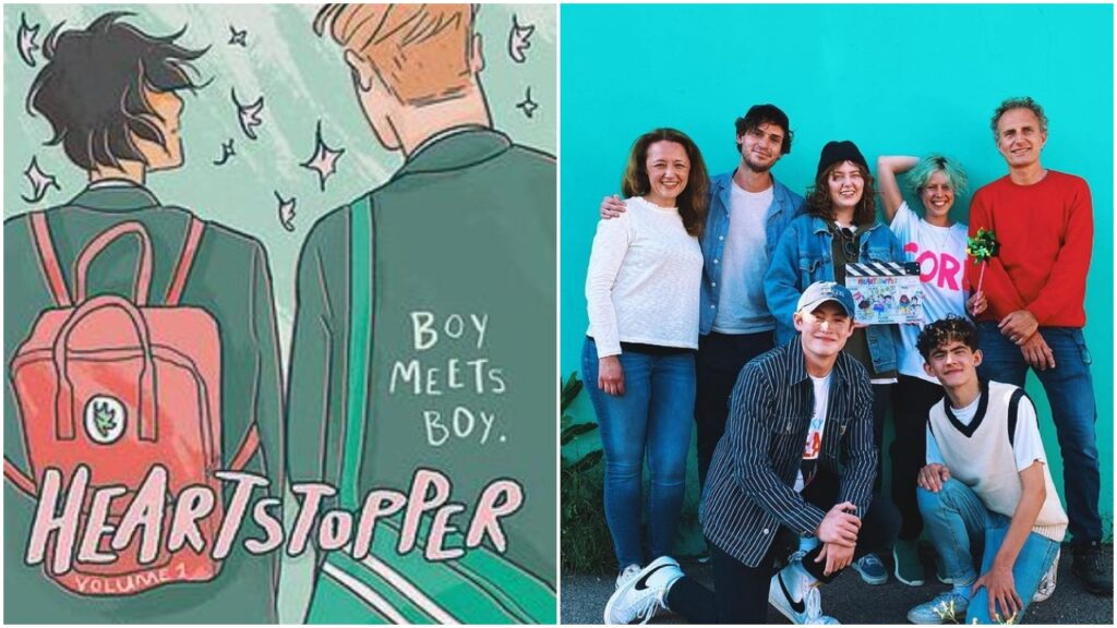 Heartstopper by Alice Oseman is being adapted into a Netflix series.