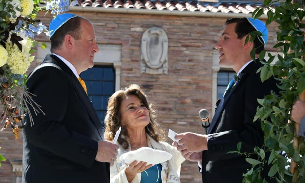First out gay governor in US history marries partner in beautiful, intimate ceremony