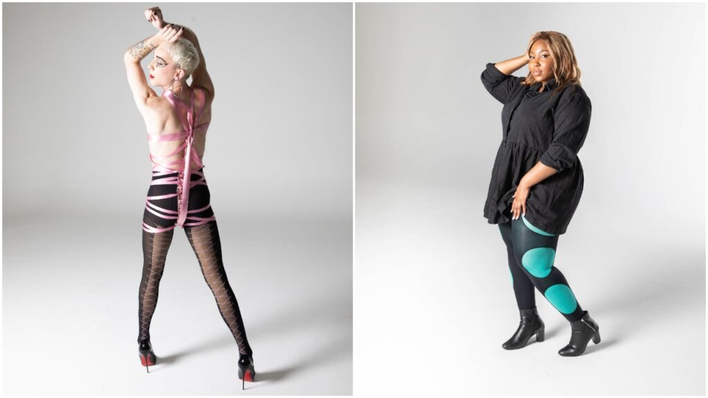 Two of the designs from the collection by Jamie Campbell. (Snag)