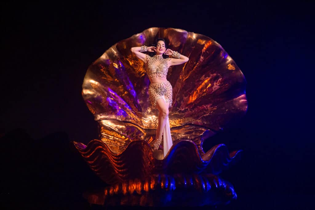 Dita Von Teese is bringing her show Night Of The Teese – A Cinematic Special to screens for the first time ever.