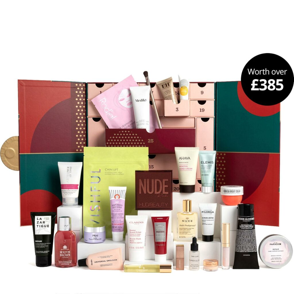 The Feelunique beauty advent calendar for 2021.