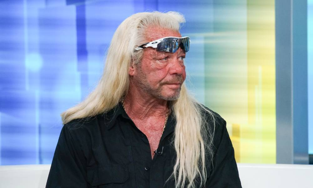 Duane Chapman aka Dog the Bounty Hunter appears on FOX and Friends in 2019