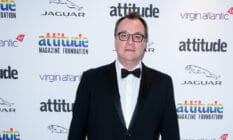 Russell T Davies attends the 2019 Attitude Awards
