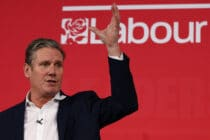 Labour Party leader Keir Starmer, who has been accused of failing to tackle transphobia