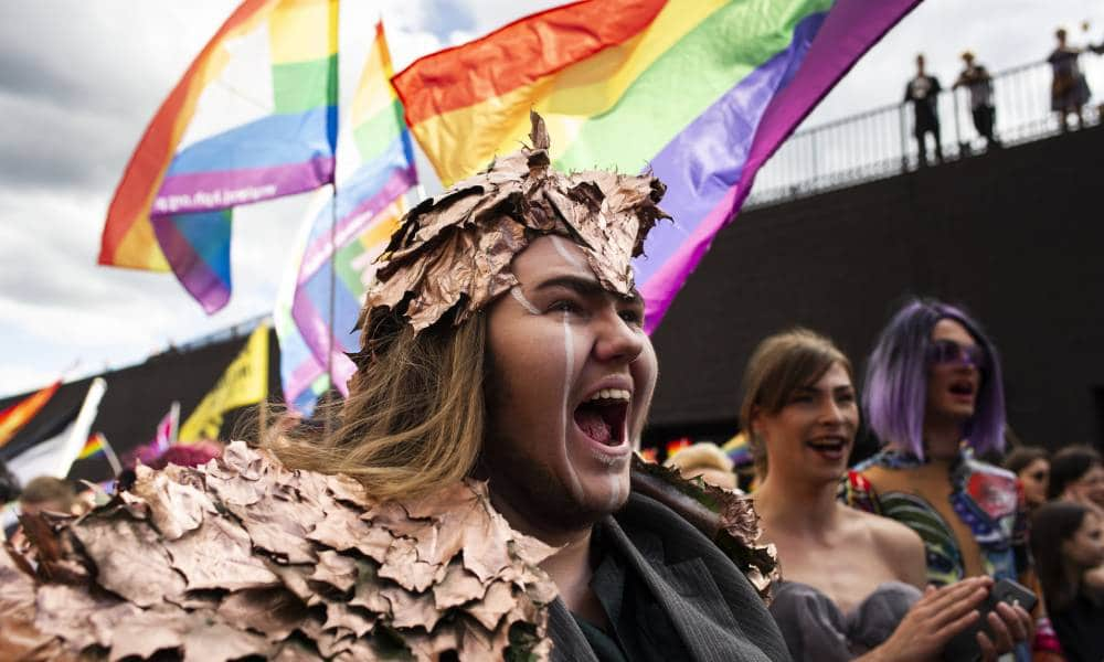 Thousands of LGBTQ+ people and allies took part in the Equality Parade in Gdansk, Poland