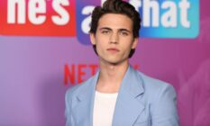 """Tanner Buchanan attends Netflix's premiere of """"He's All That"""", the netflix star has said he would want to play a bisexual Robin in the new Batman films"""