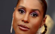 Issa Rae's Emmy red carpet eye makeup look cost £10.