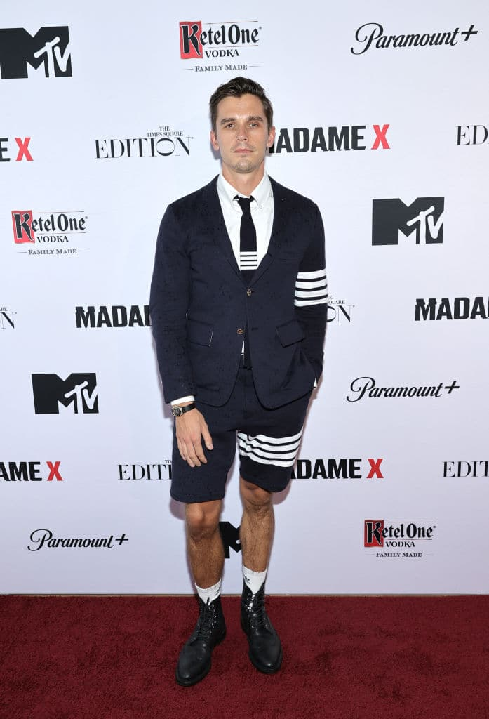 Queer Eye's foodie expert Antoni appeared at the Madame X premiere.
