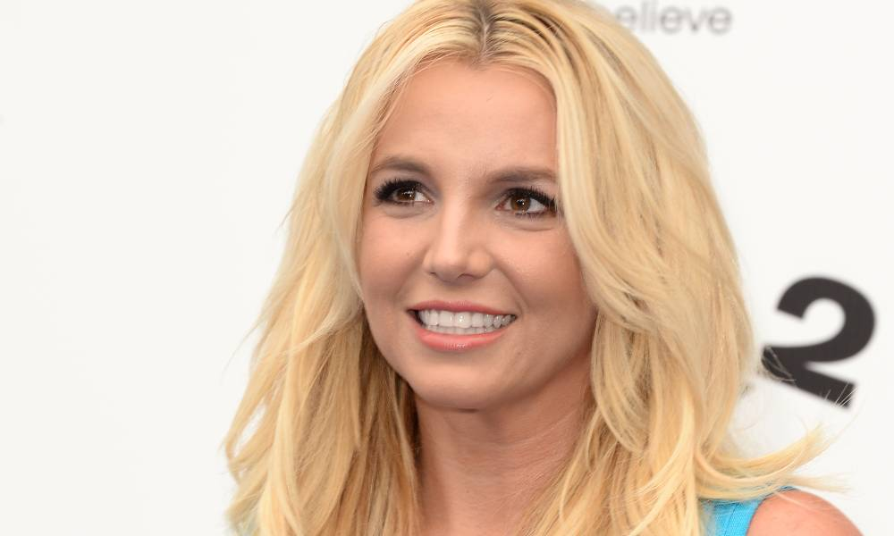 """Britney Spears attends the premiere of Columbia Pictures' """"Smurfs 2"""""""